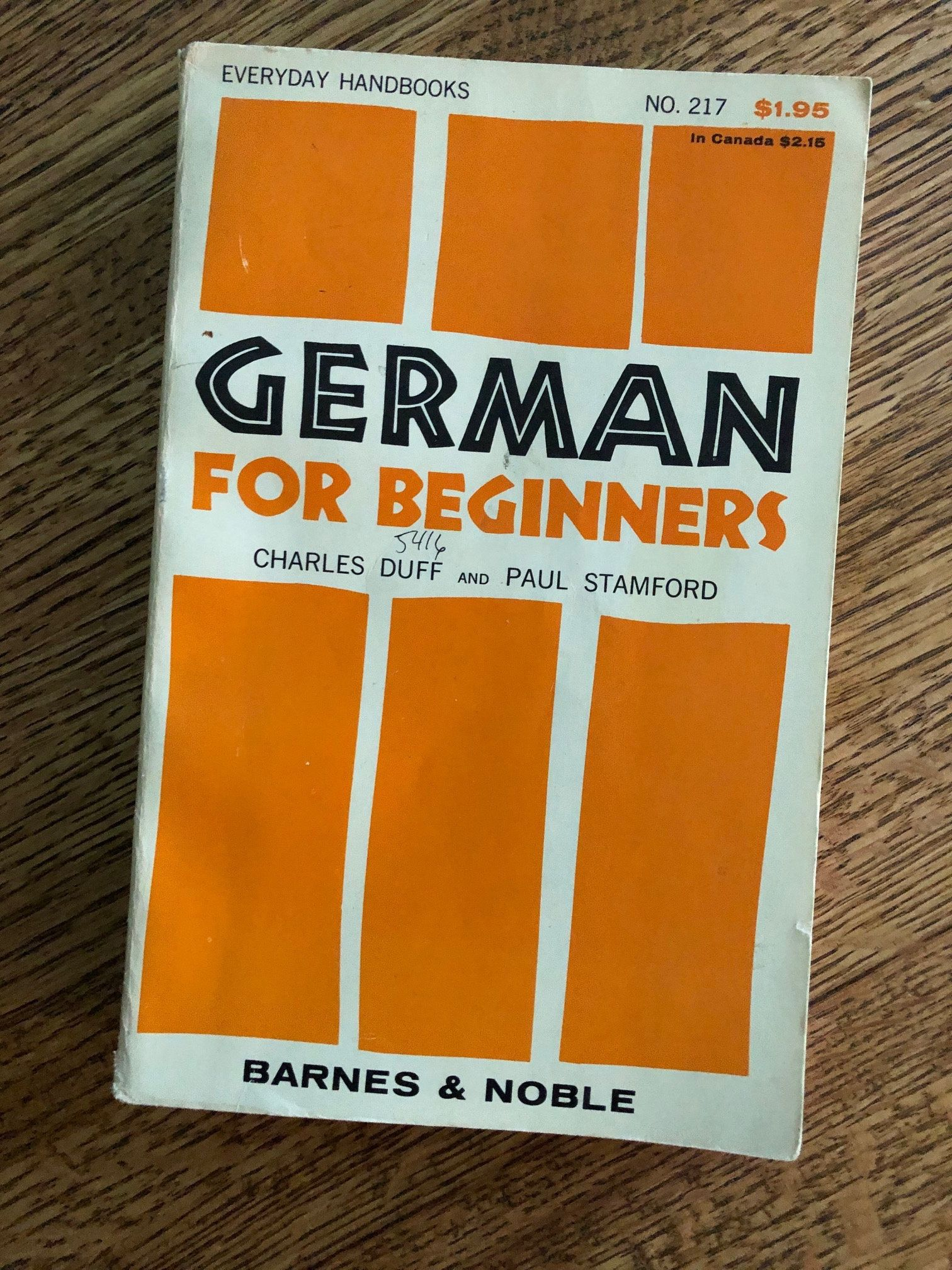 Vintage Book German For Beginners By Duff And Etsy Textbook Vintage Book German Language Learning