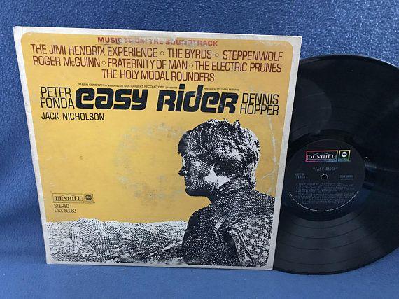 Rare Vintage Quot Easy Rider Quot Original Soundtrack Vinyl