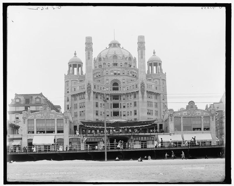 20 Grand Hotels Of Atlantic City S Past City Canvas Art Vintage Photography Atlantic City