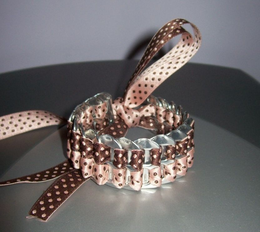 Manualidades con anillas de latas y crochet buscar con - Manualidades faciles con latas ...
