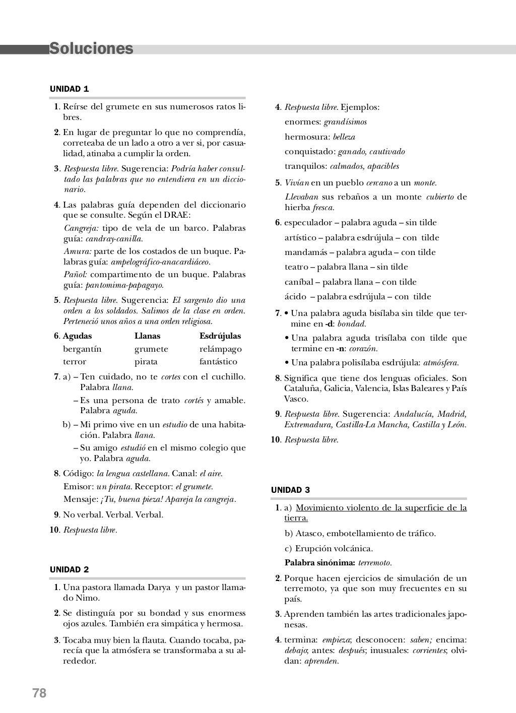 Lengua Quinto De Primaria Anaya Evaluaciones Lengua Palabras Llanas Evaluacion