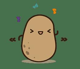 Kawaii Potato By Clgtart Kawaii Potato Cute Potato Potato Tattoo