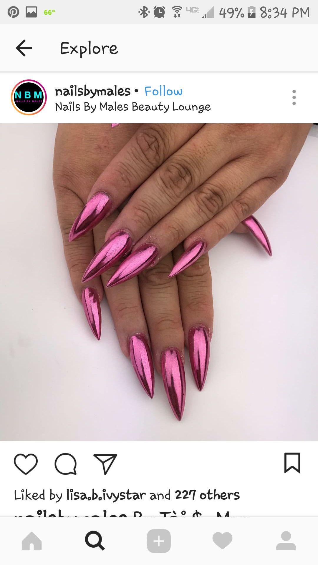 Batenchyk stiletto nails pinterest nail nail nails games and