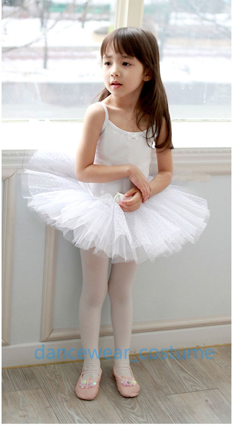 3962080900884 $9.98 - Kids Girls Birthday Party Ballet Costume Tutu Dance Leotard Skirt  Dress 3-8Y #ebay #Fashion