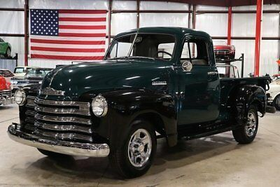 Manual Trucks For Sale >> 1952 Chevrolet Pickup 209 Miles Green Black Pickup Truck 6
