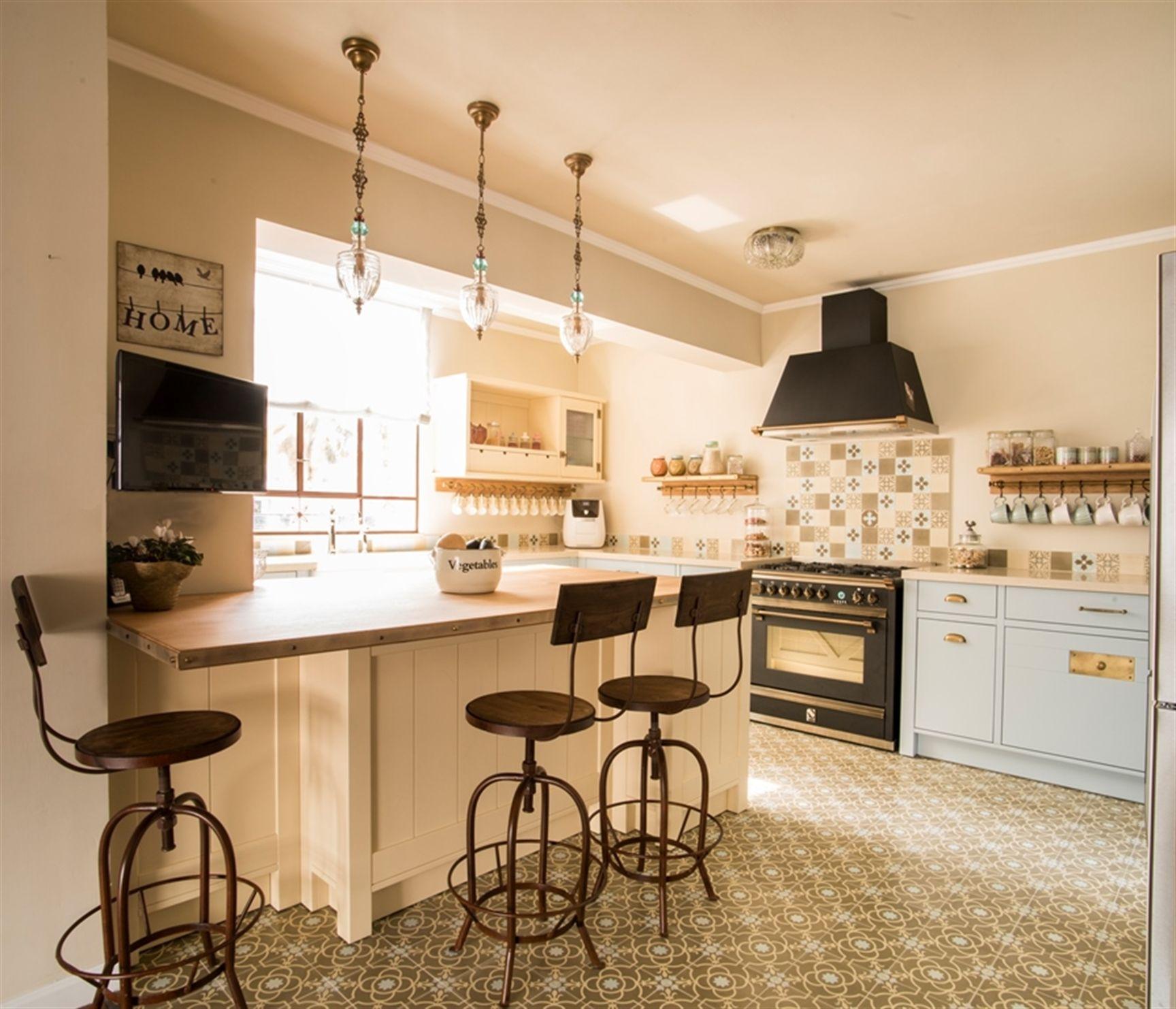עיצוב מטבח בסגנון כפרי - פשטות מטבחים