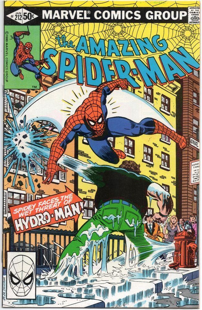 Amazing SpiderMan 212 / 1st App. Morris Bench HydroMan