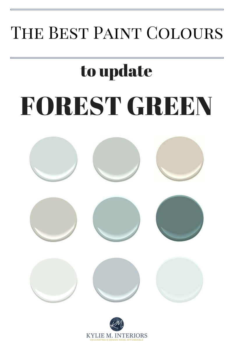 Paint Colours To Update Forest Green