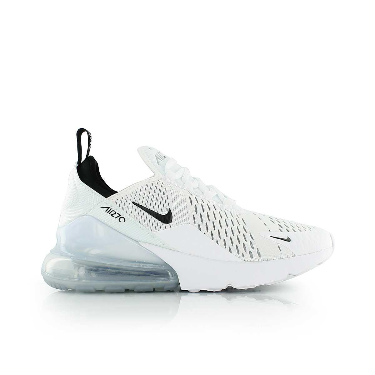 nike AIR MAX 270 (GS) WHITEBLACK WHITE | Nike air max mens