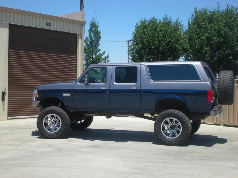 1992 4 Door Ford Bronco Stroke