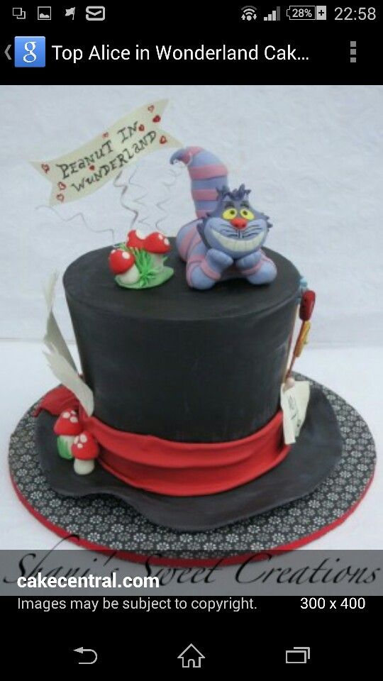 Mad Hatter Hat Cakes Ideas Pinterest Mad Hatter Hats Birthday