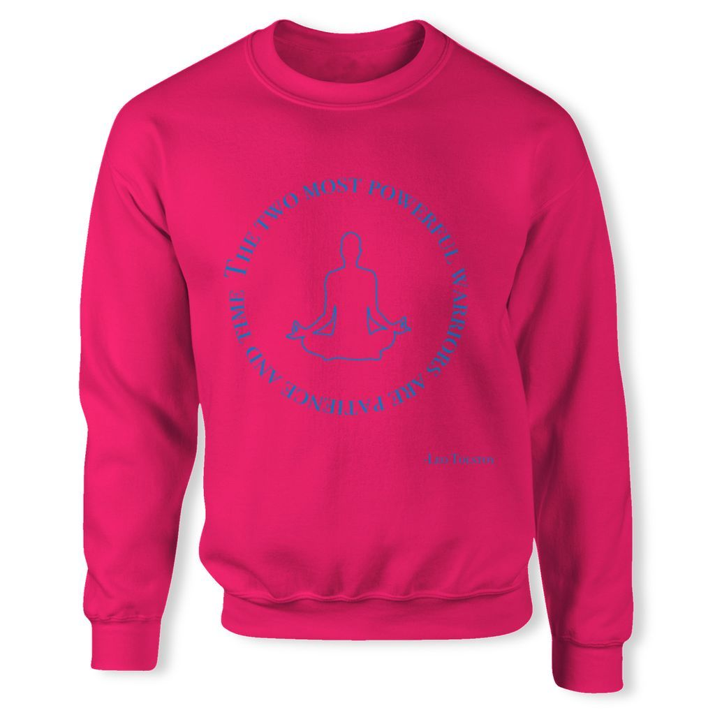 Two most powerful warriors: patience and time Sweatshirt