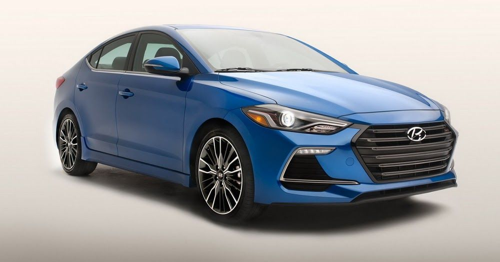 AllNew Turbocharged 2017 Hyundai Elantra Sport For The