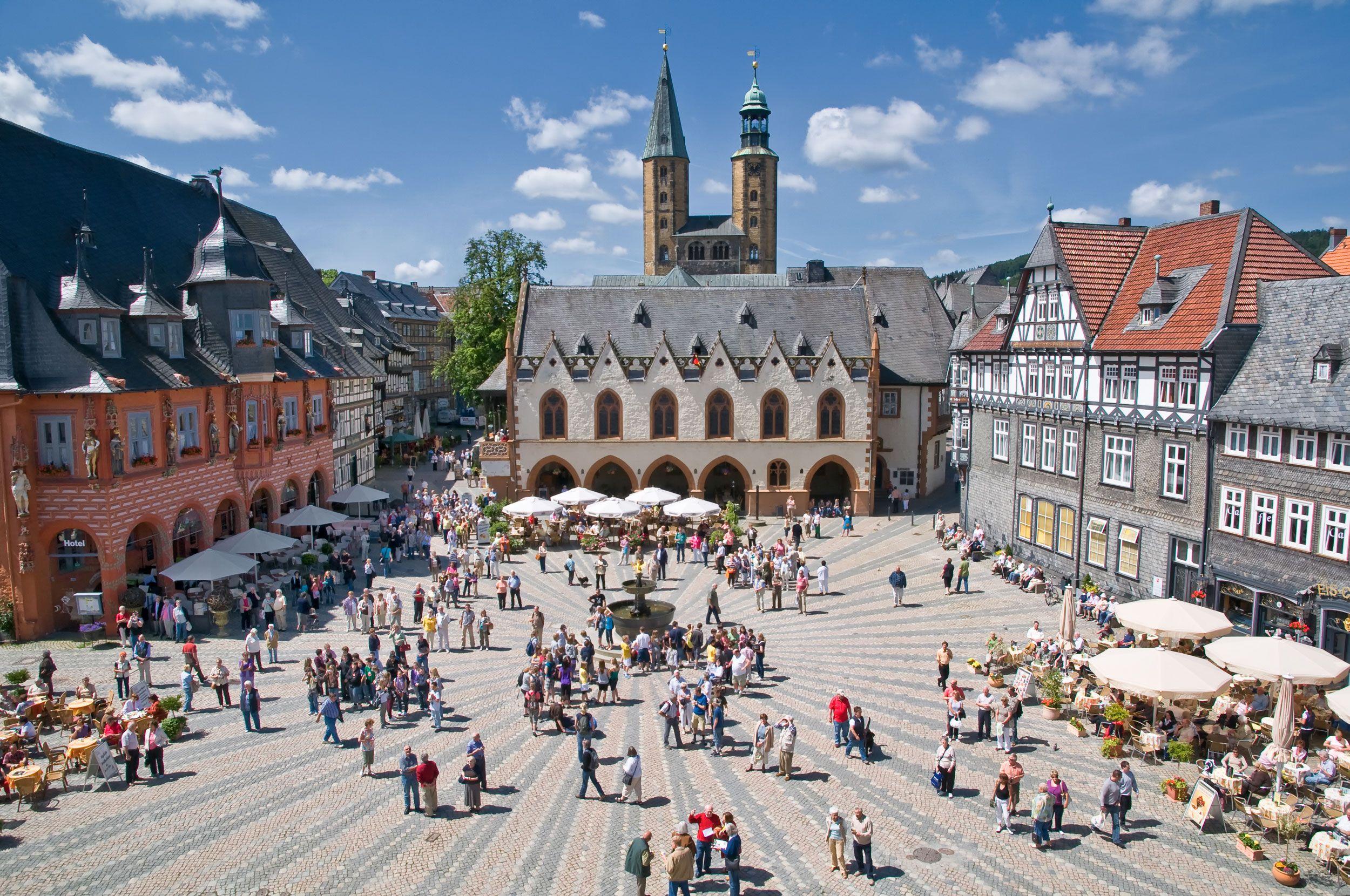 Marktkirche Goslar St Cosmas Und Damian Goslar Historische Altstadt Altstadt
