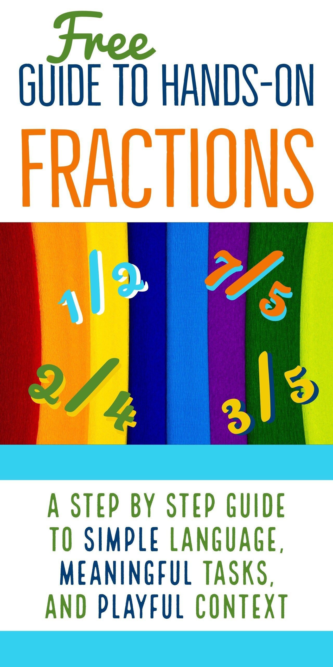 10 Plus Ways To Introduce And Practice Naming Fractions