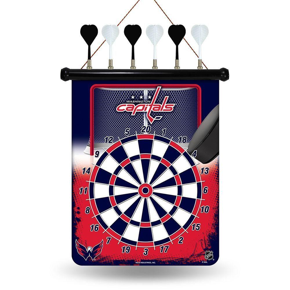 Washington Capitals NHL Magnetic Dart Board | Products | Pinterest