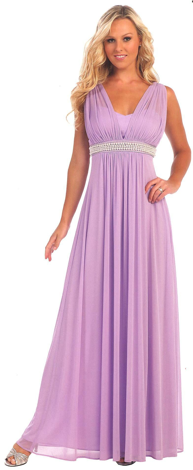 Evening Dresses Bridesmaid Dresses UNDER $200<BR>6085<BR>V neckline ...