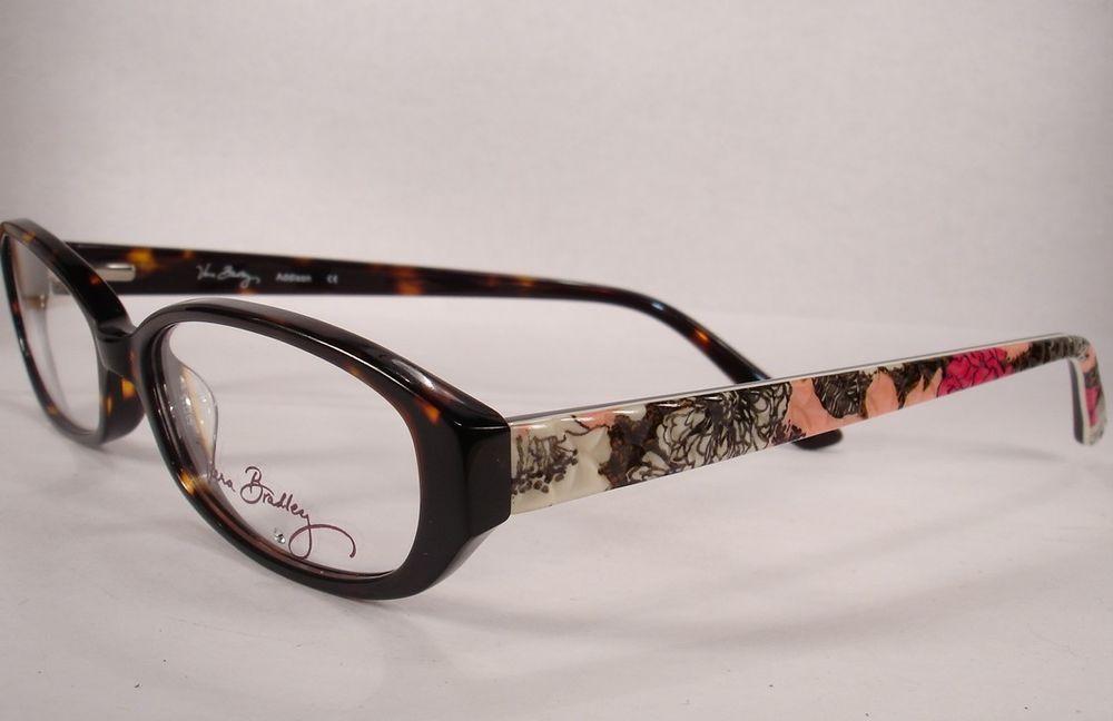 Vera Bradley Addison Mocha Rouge Women Eyeglass Eyewear