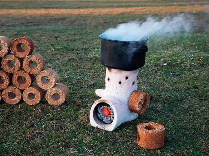 Rocket-Stove - Rocket-Stove DYI Pinterest Stove, Examples And Infos
