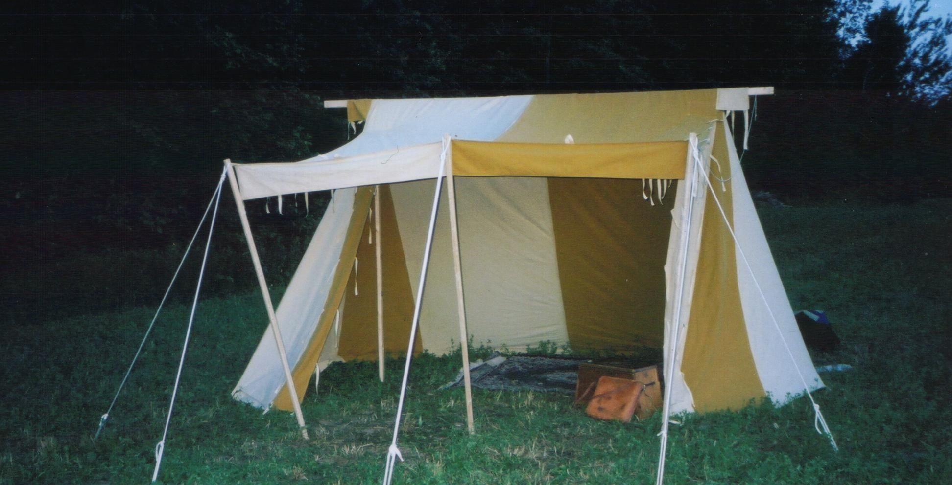 Tent building - thinking about getelds & Geteld plans | http://regia.ca/getelds/getelds.htm | Geteld Anglo ...