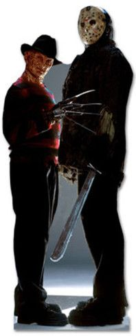 Freddy Krueger & Jason Voorhees - Freddy vs. Jason Movie Lifesize Standup Poster Stand Up at AllPosters.com