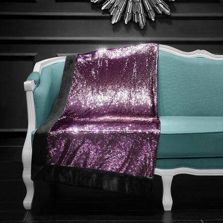 Walmart Throw Blankets Mainstays Reversible Sequins Throw Blanket 50 Inchx60 Inch Pink