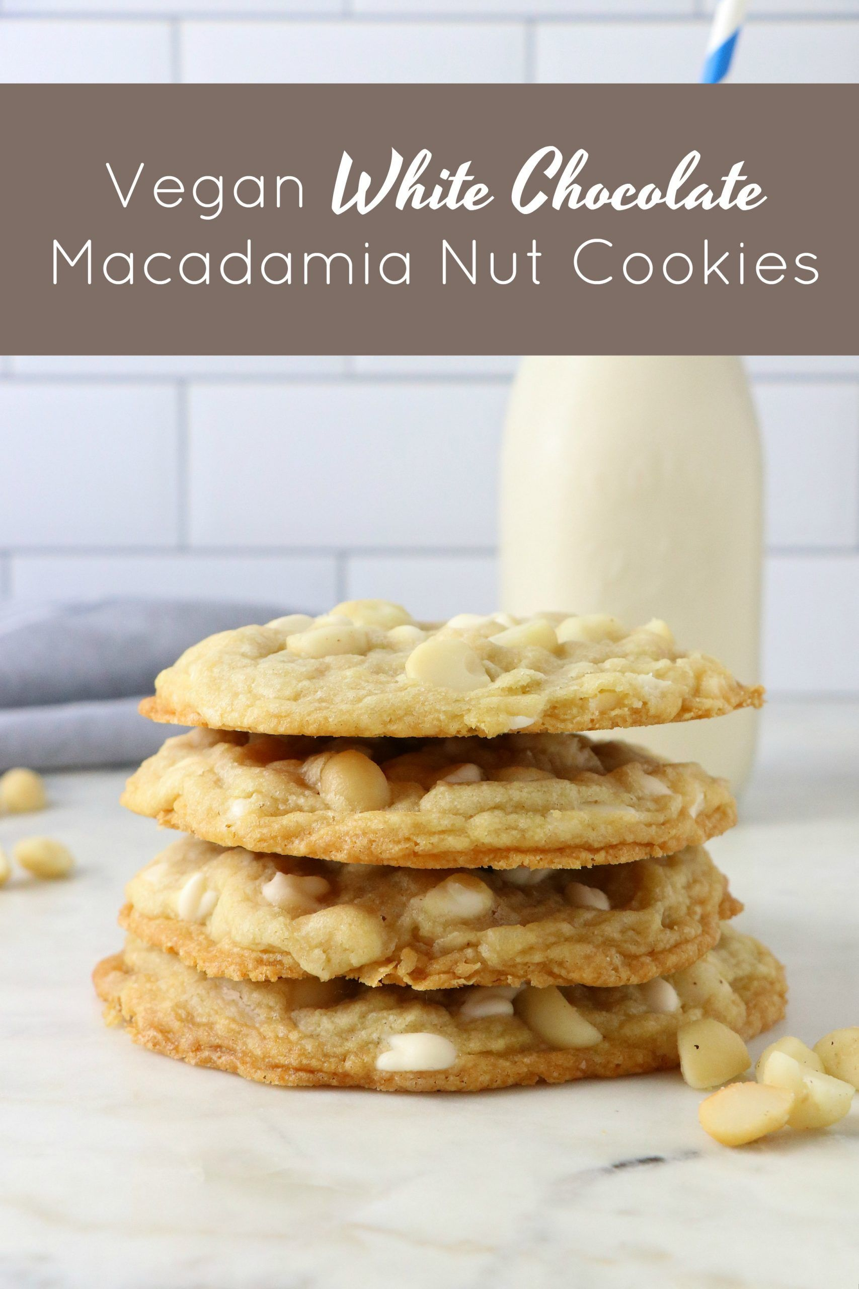 1 Bowl Vegan White Chocolate Macadamia Nut Cookies Eat Drink Shrink Recipe In 2020 Vegan White Chocolate White Chocolate Macadamia Nut Cookies Macadamia Nut Cookies