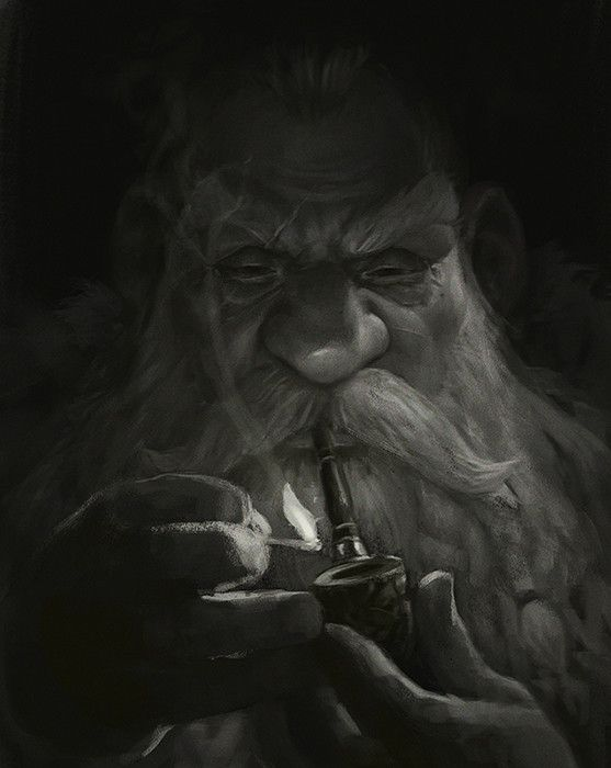Dwarf, Sergey Kykhylov on ArtStation at https://www.artstation.com/artwork/q2QGe