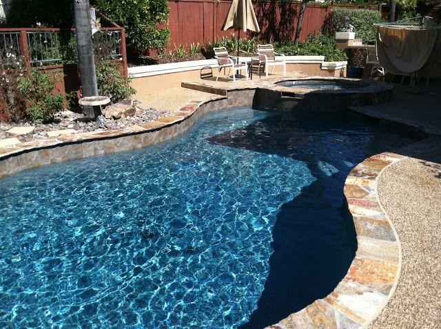Topaz Mini Pebble Gemstone Pools Small Pool Design Pool Remodel Pool Colors