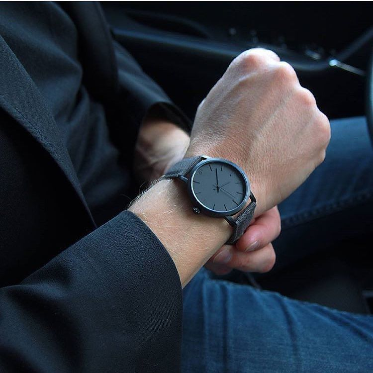 39983fde2d9 Relógio Minimalista All Black Loftmasculino.com   Use  LoftMasculino ...