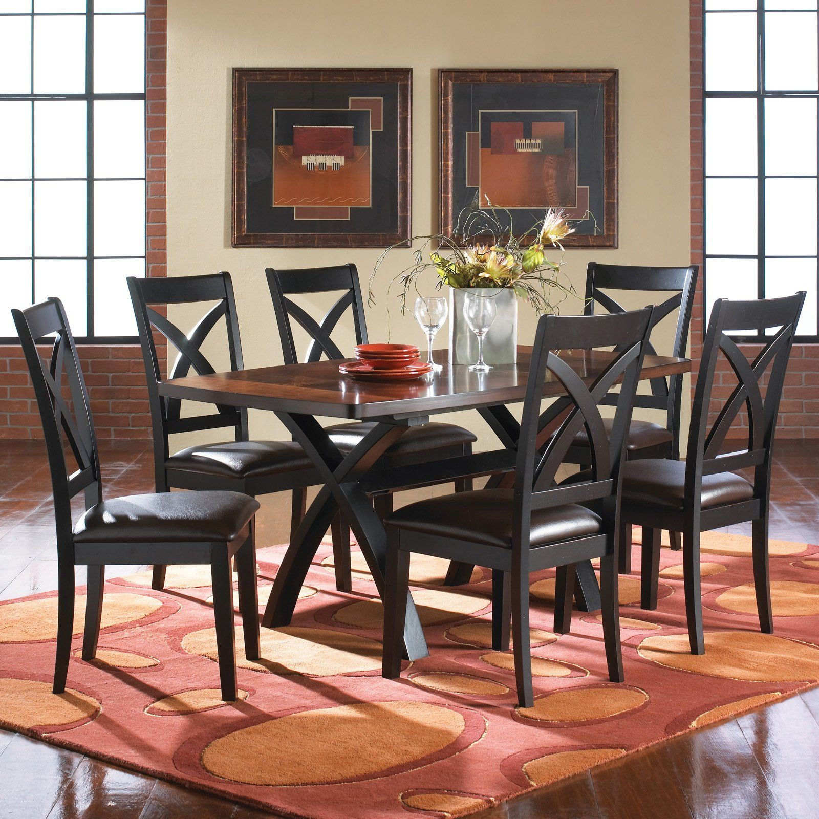 Room Xanadu 7 Piece Dining Set