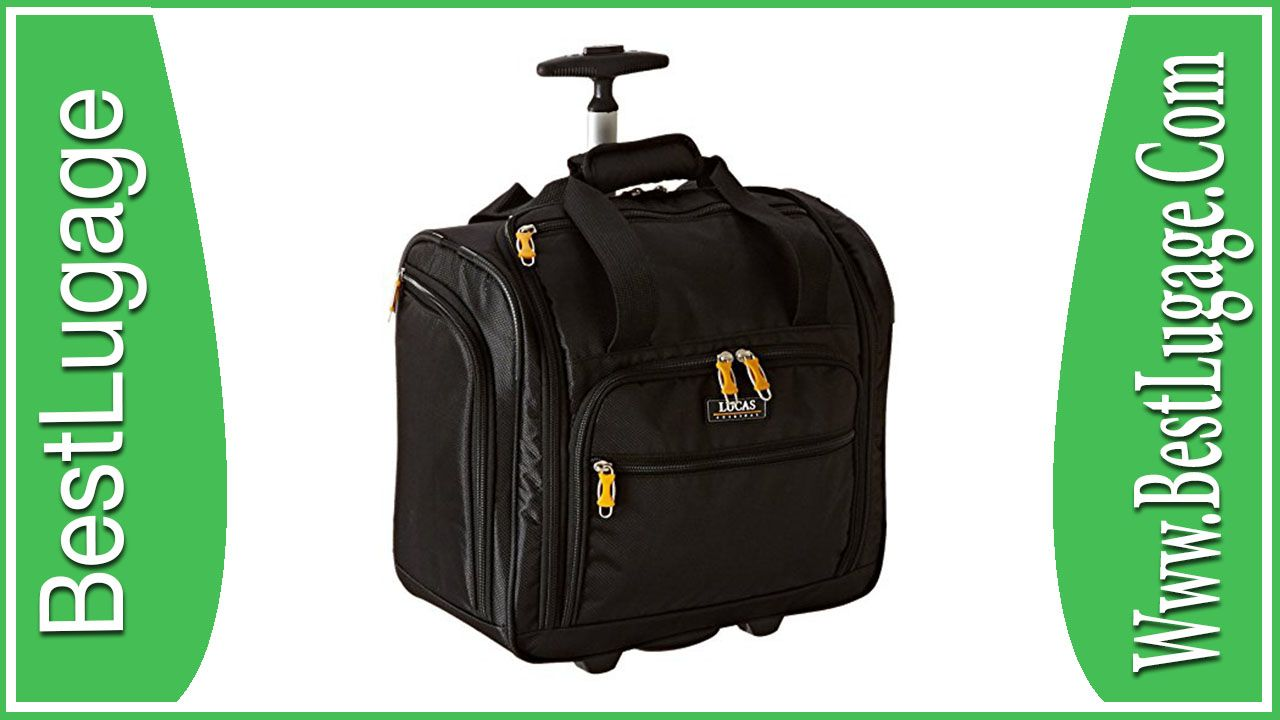 fashion styles sale info for LUCAS Wheeled Under the Seat Cabin Bag Exclusive Review ...