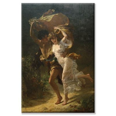 Buyenlarge 'The Storm' by Pierre Auguste Cot Painting Print on Canvas | Wayfair