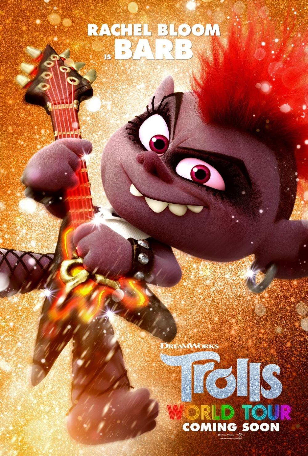 Постер мультфильма Тролли. Мировой тур | Фильмы онлайн ...