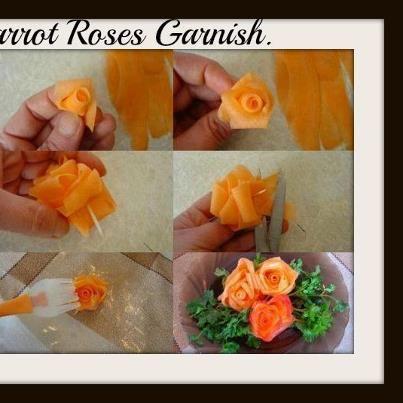 carrot garnish~