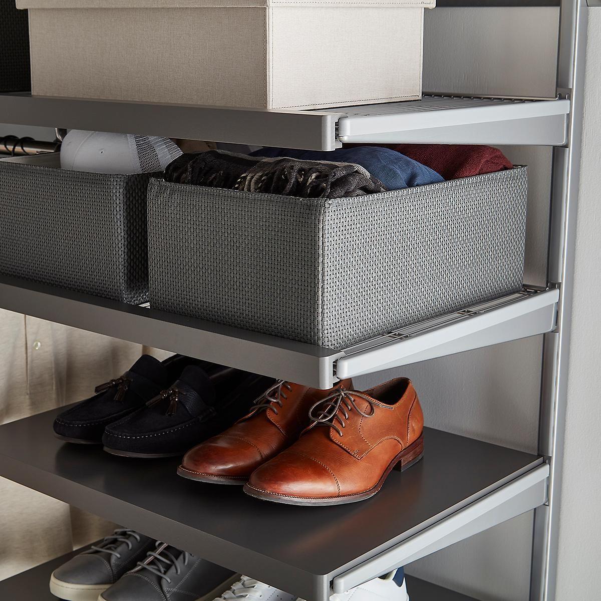 Grey Woven Kiva Storage Bins In 2020 Storage Bins Stylish Storage Storage #storage #bins #for #living #room