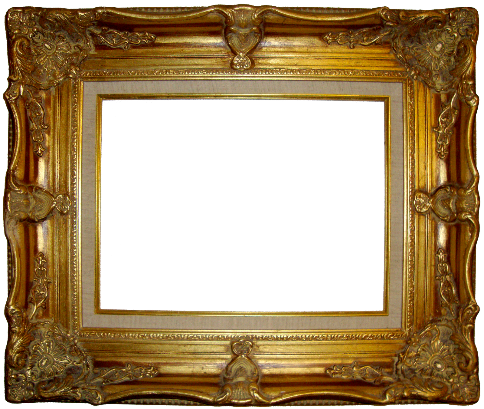Fancy gold frame google search angeleas pizzeria for Old antique frames