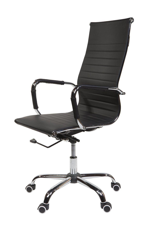 Design bürostuhl  Amazon.de: Design Bürostuhl Chrom Rahmen Elegance Chefsessel ...