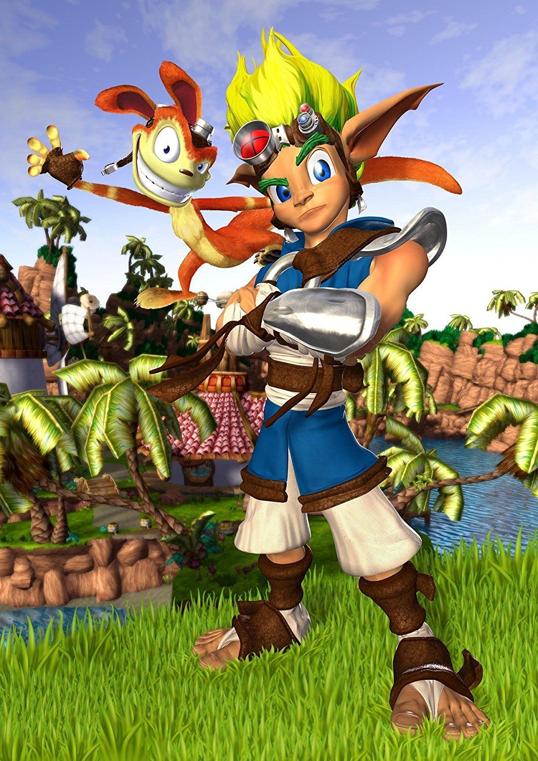 Jak and Daxter Poster Poster, Anime, Video game posters