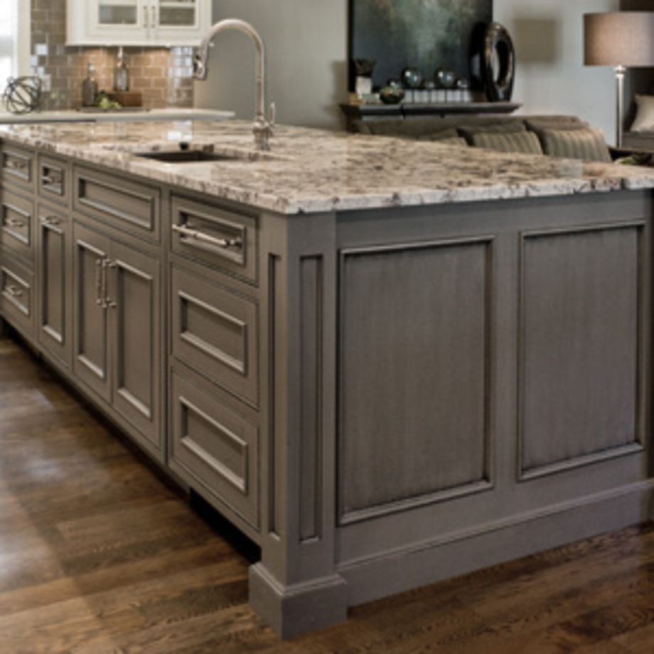80 Cool Grey Kitchen Cabinet Ideas Roundecor Glazed Kitchen Cabinets Grey Kitchen Island Grey Kitchen Cabinets