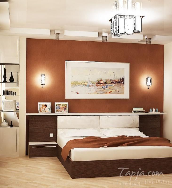 Brown Wall Decor Bedding With Lighting Fixture Gl Shelves Por Bedroom Decorating Pastel Color Ideas And Design
