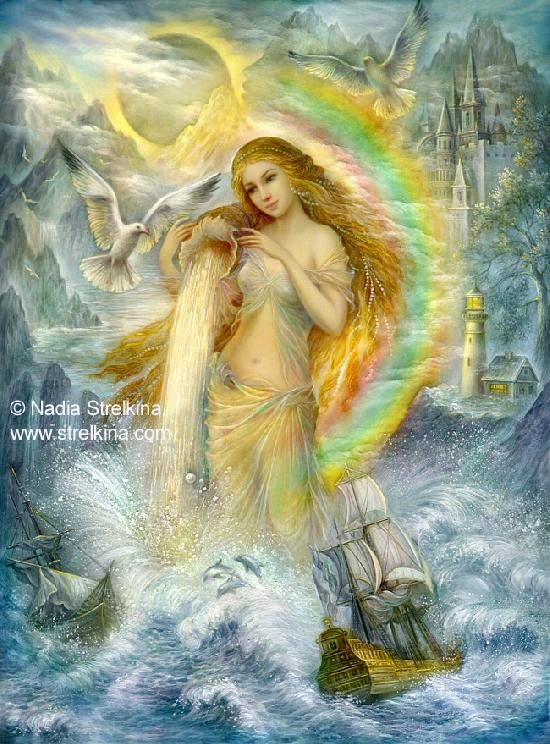 Nadezhda Strelkina Water Leu #fantasy #fairy #magic | Art | Nadezhda ...