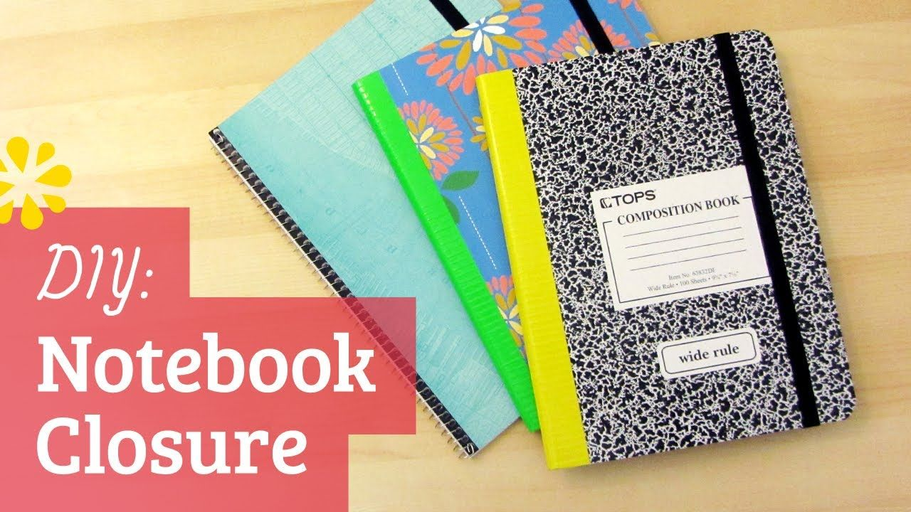 how to design a composition notebook