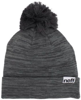 neff Women s Heather Pom Beanie Hat a57b3dc30