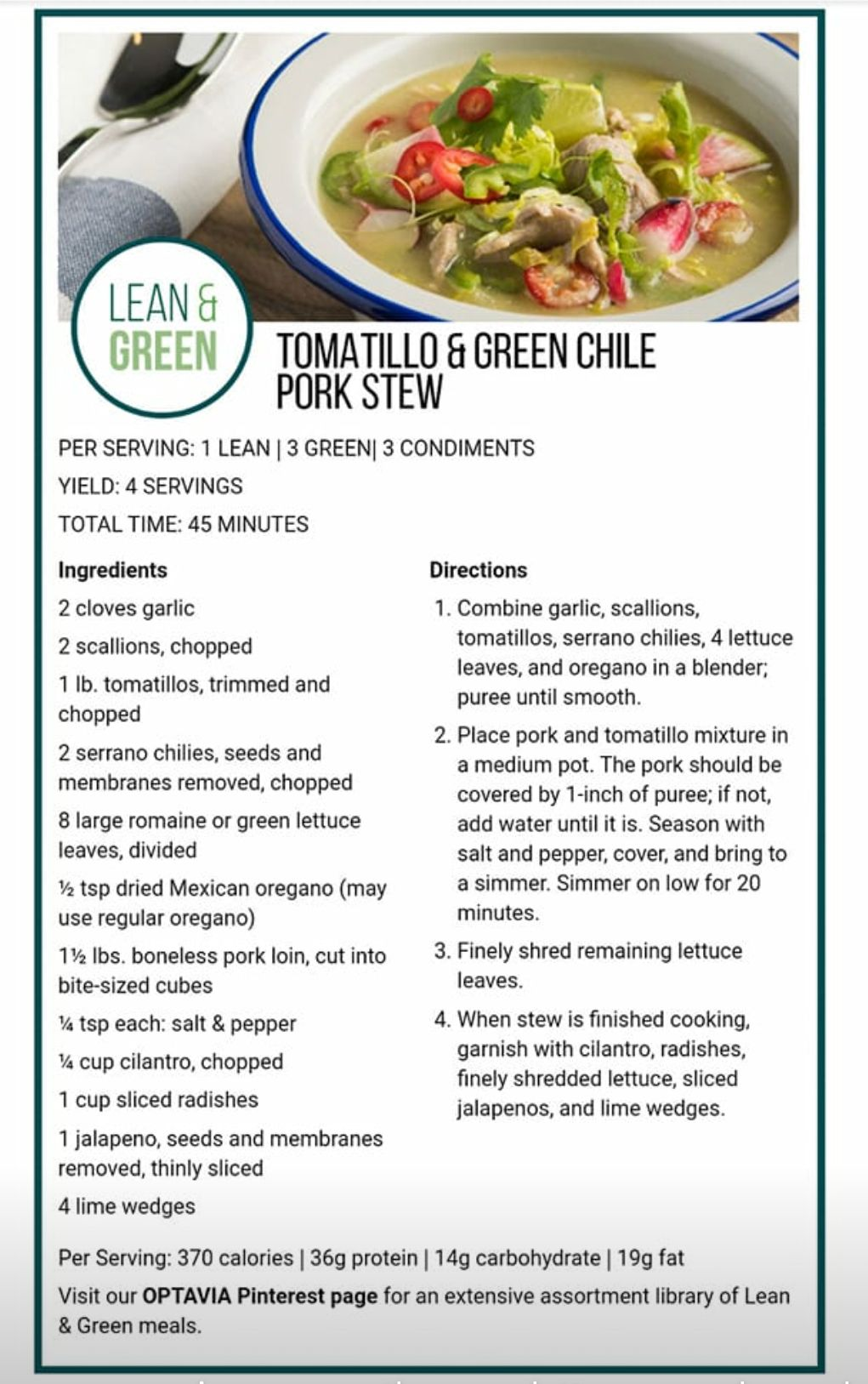 Image Result For Optavia Lean And Green Lean Protein Meals Lean And Green Meals Greens Recipe