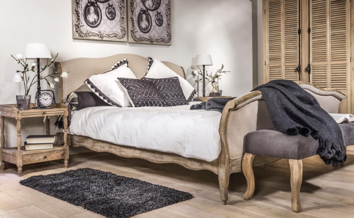 Slaapkamer Landelijke Stijl : Landelijke stijl bedden online kopen bij living shop specialist
