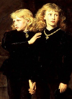 The Princes Edward and Richard in the Tower, 1878 by John Everett Millais