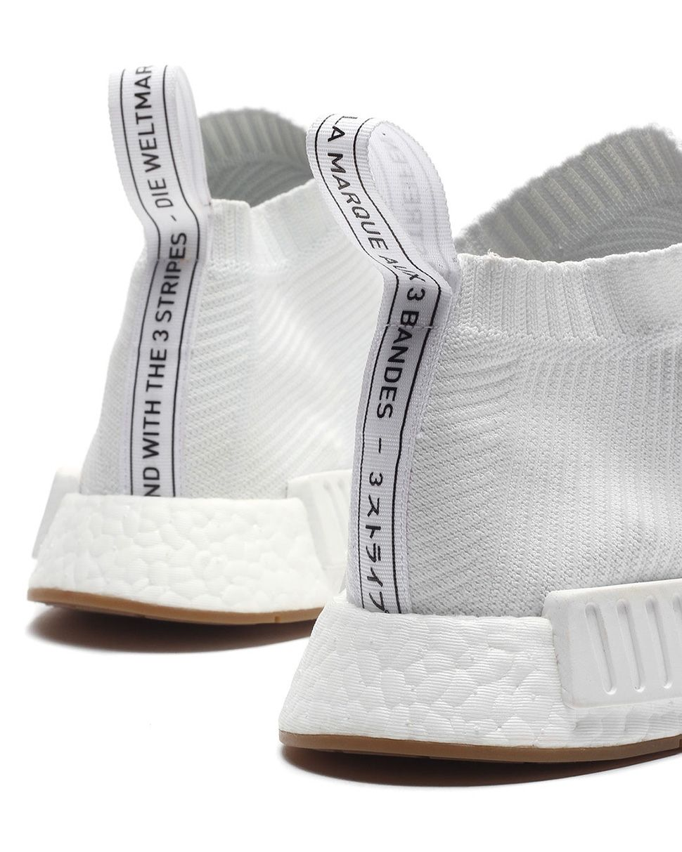 c19b12901 adidas NMD CS1 PK Footwear White Release Date  adidas Originals NMD City  Sock 1 Gum Pack eukicks