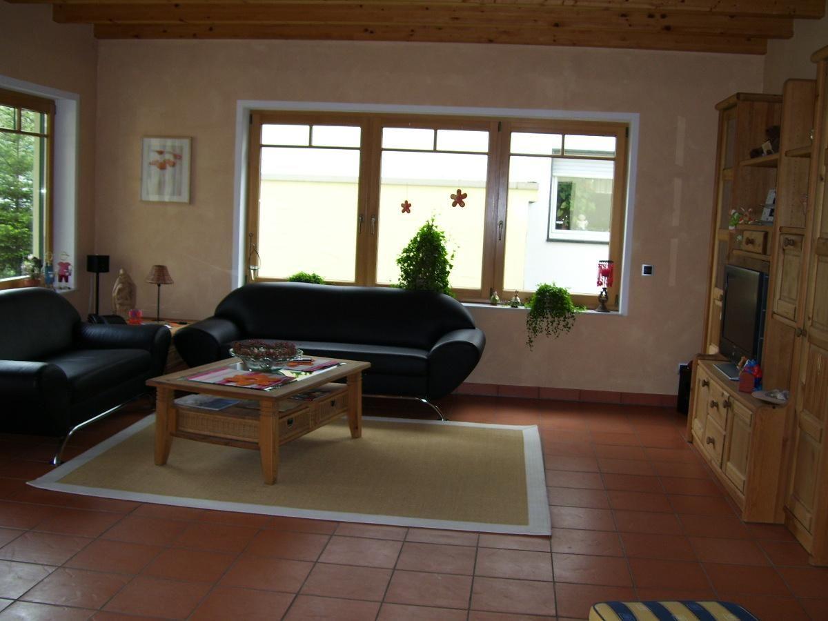 Wohnideen Wohnzimmer Terracotta wohnzimmer wandgestaltung streifen dumss com interiors and house