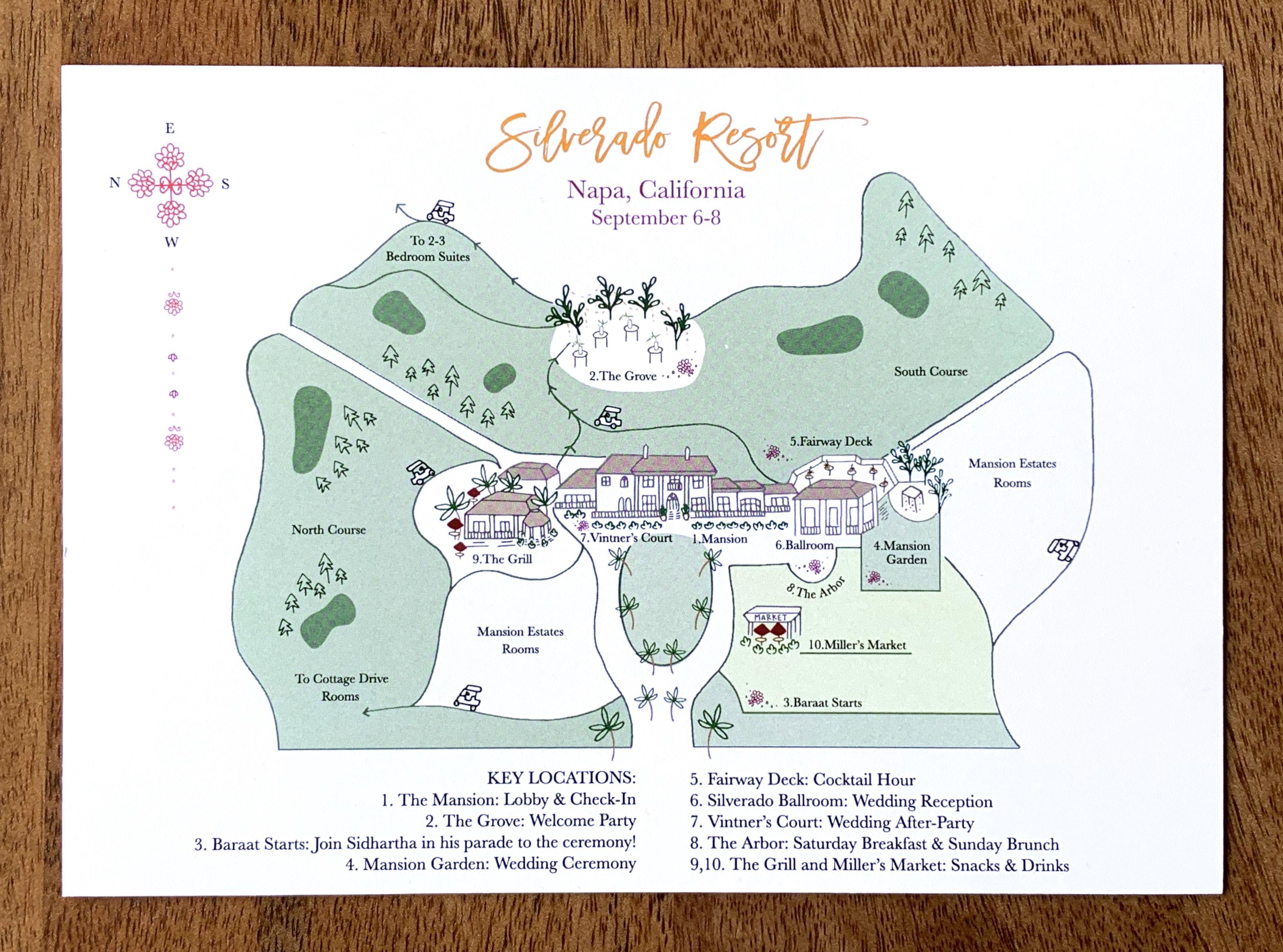 Napa Valley Wedding Map Wedding Map Napa Valley Wedding Wedding Weekend Itinerary